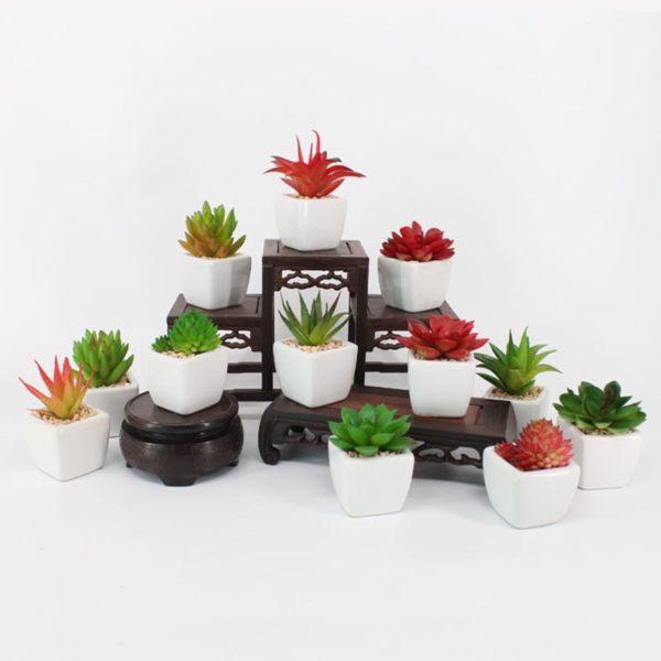 mini plantes artificielles